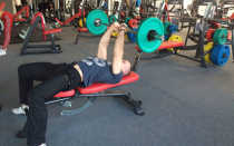 French bench press with barbell how to do it right